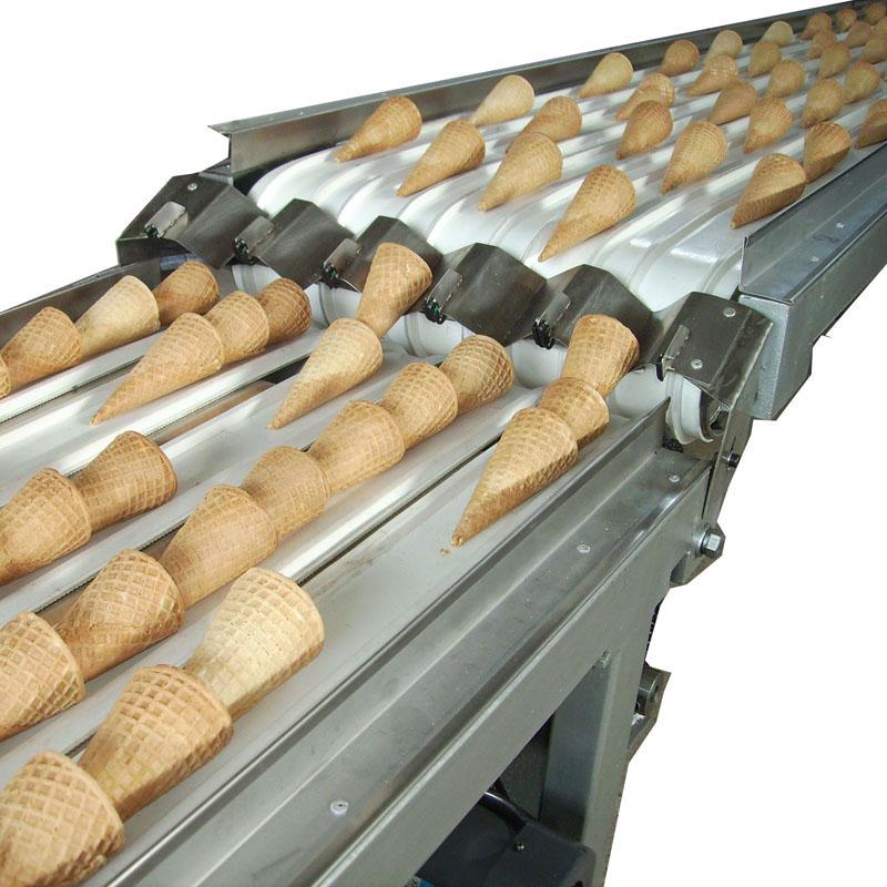 Производство на фунийки за сладолед